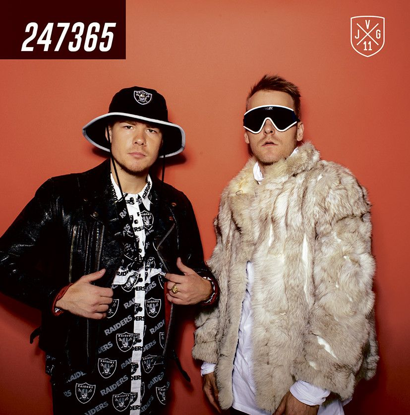 Jvg - 247365 album cover