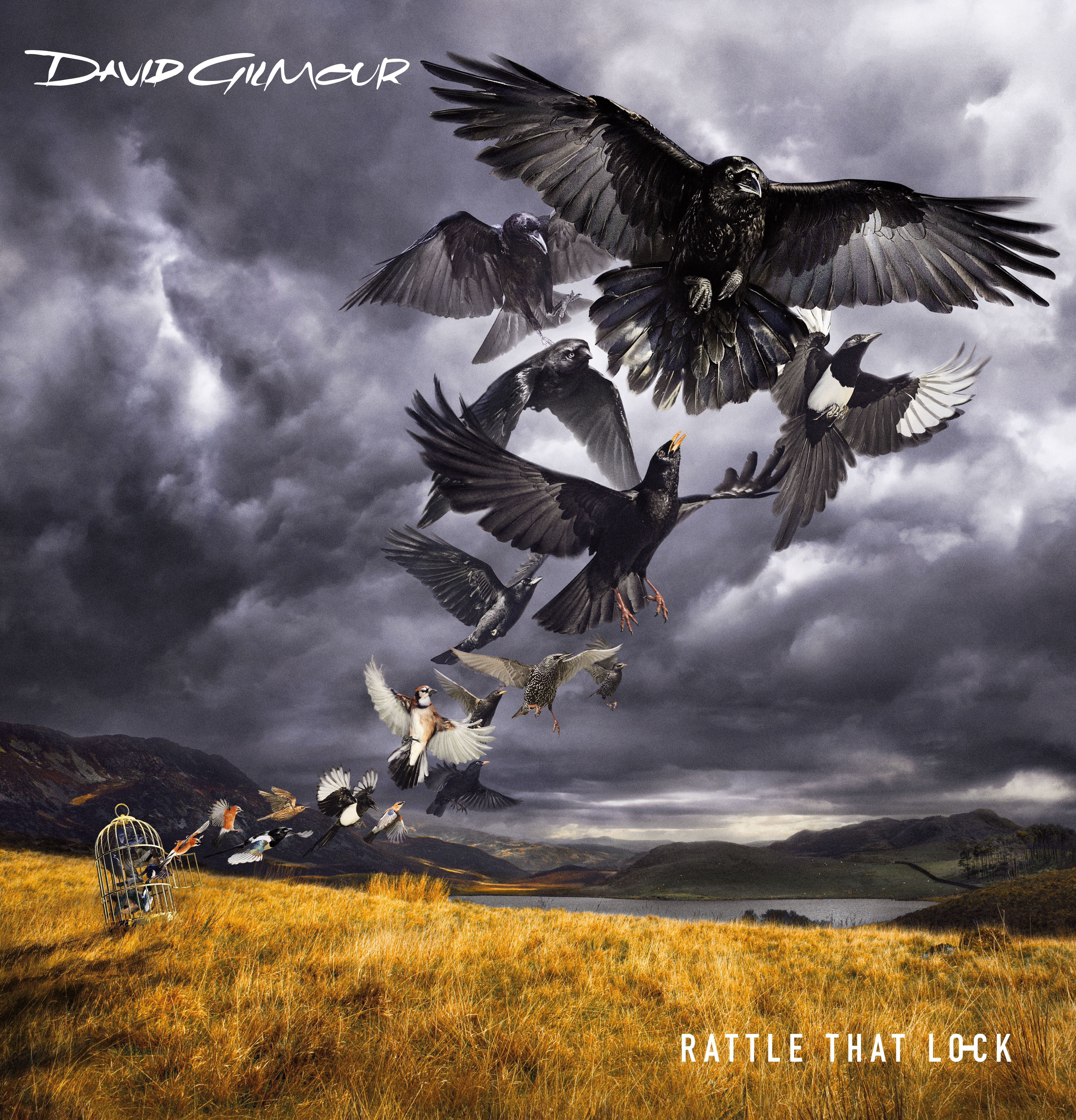 David Gilmour - Rattle That Lock album cover