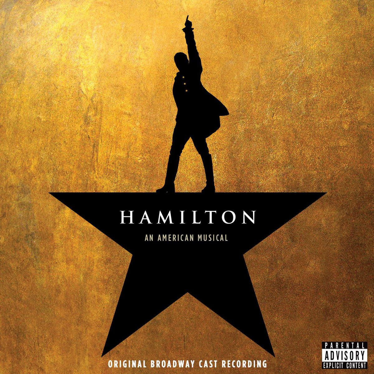 Original Broadway Cast Recording - Hamilton: An American Musical album cover