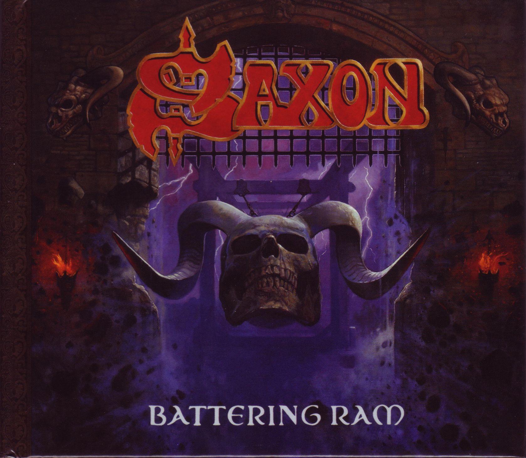 Saxon - Battering Ram album cover