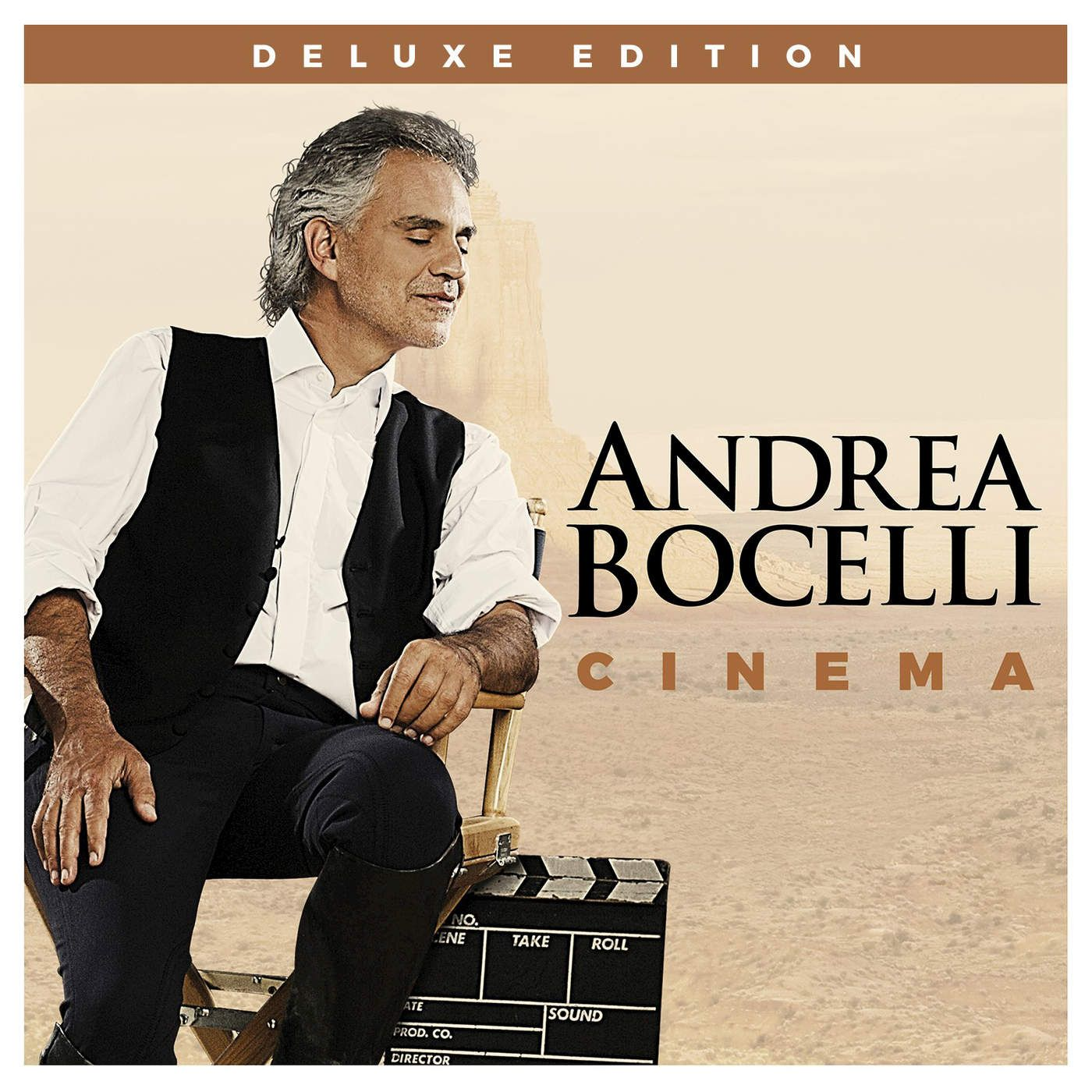 Andrea Bocelli - Cinema album cover