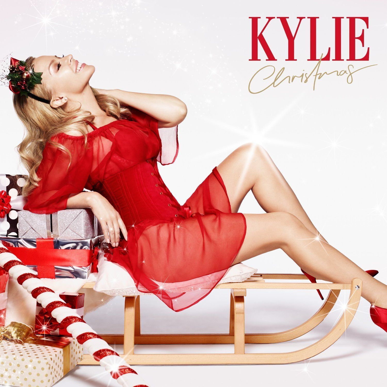 Kylie Minogue - Kylie Christmas album cover