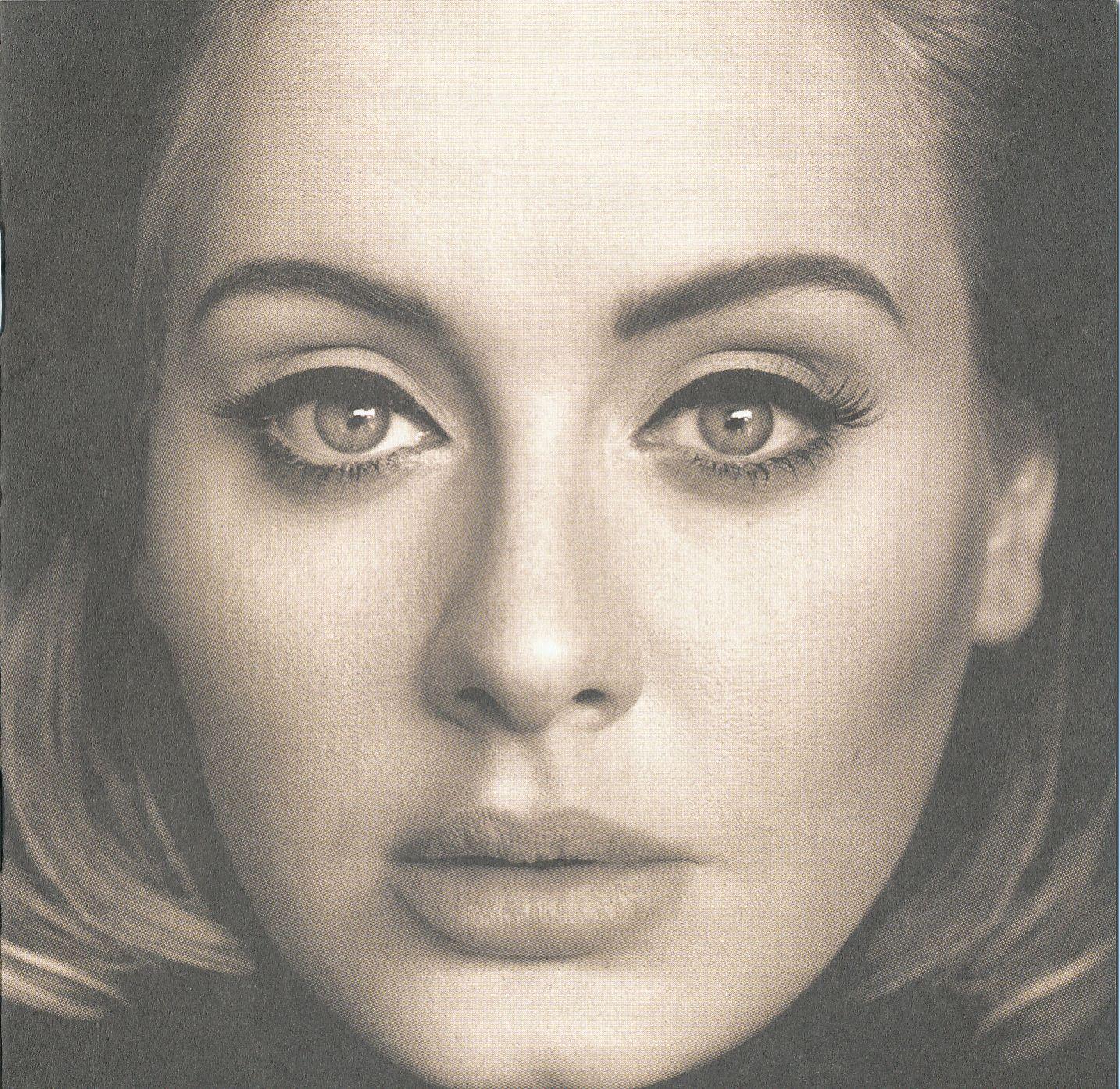 Adele - 25 album cover