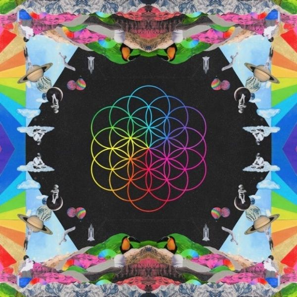 Coldplay - A Head Full Of Dreams album cover
