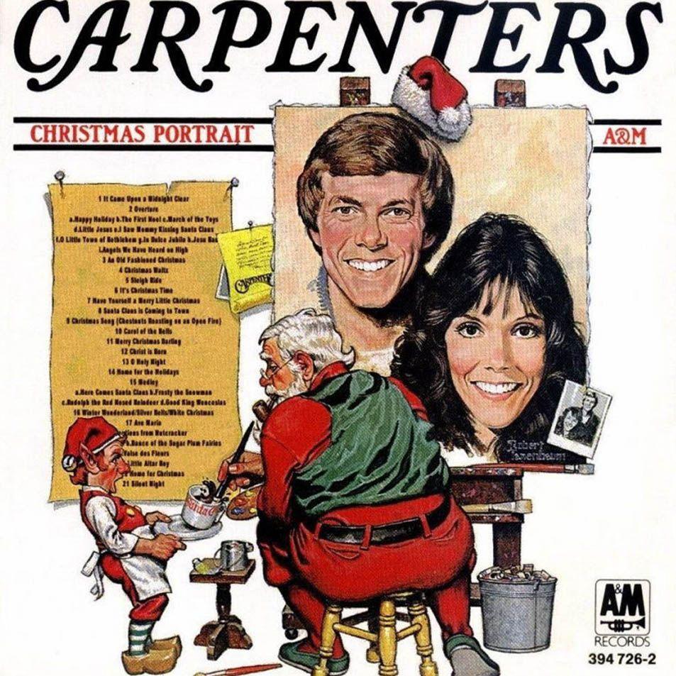 The Carpenters - Christmas Portrait album cover