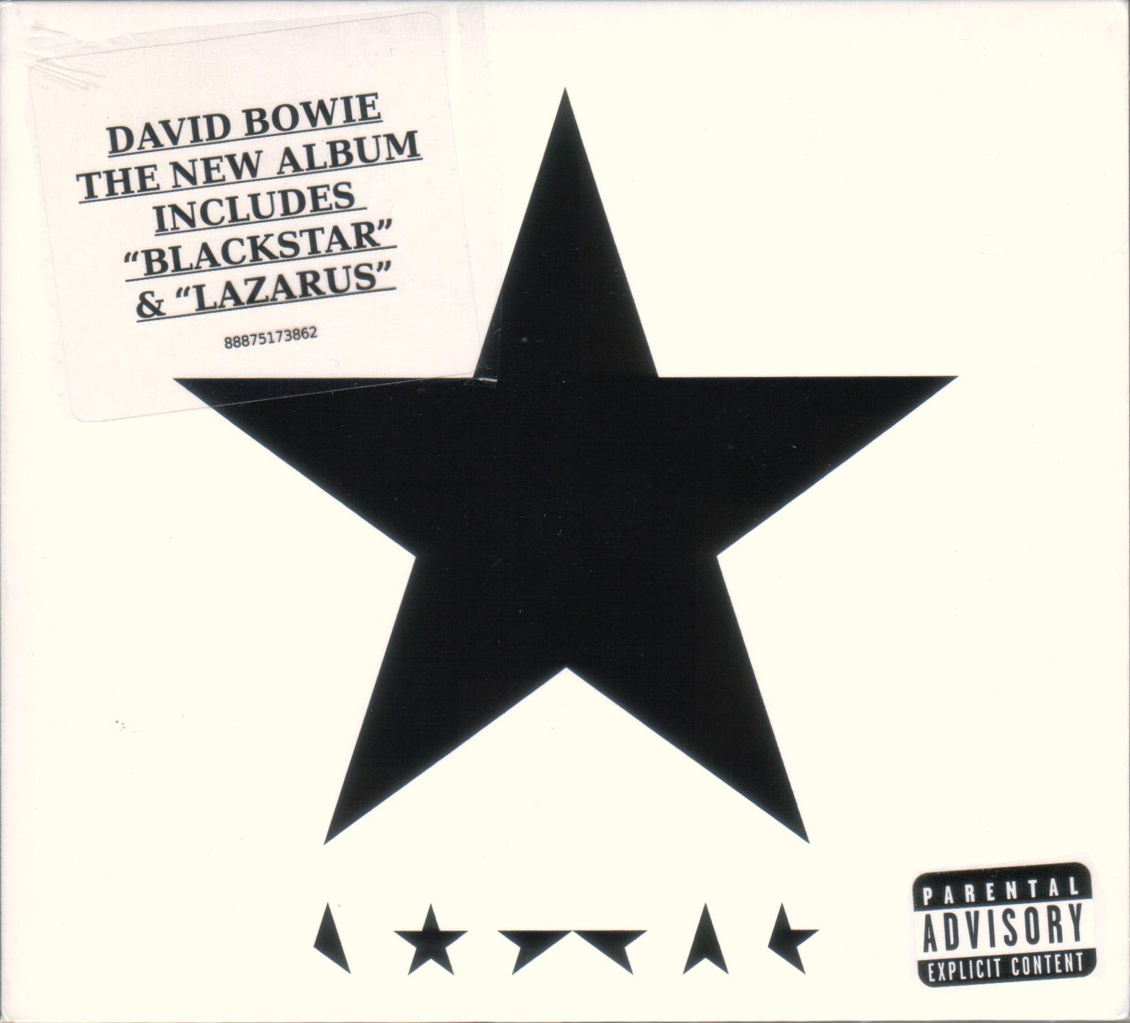 David Bowie - (blackstar) album cover