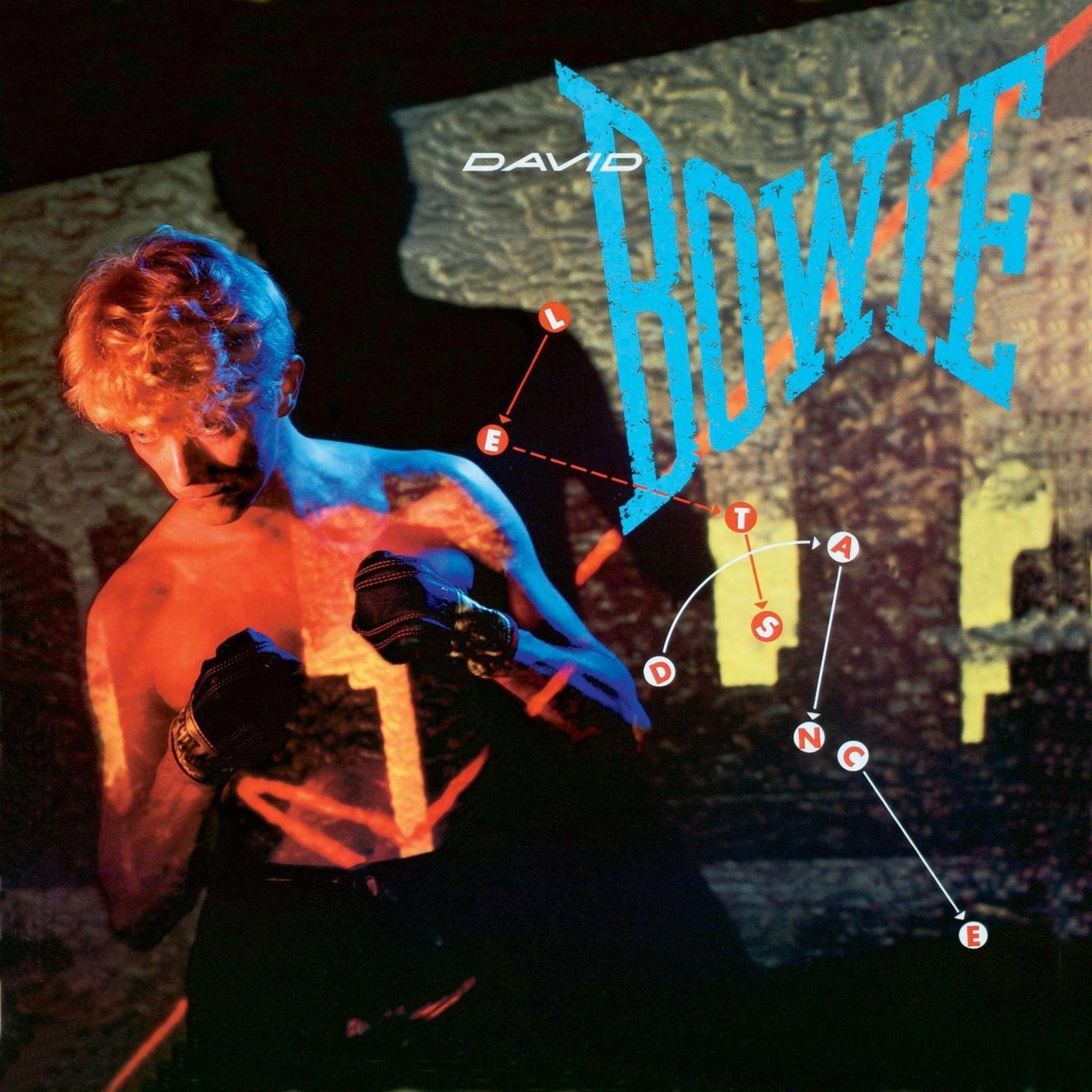 David Bowie - Let's Dance album cover