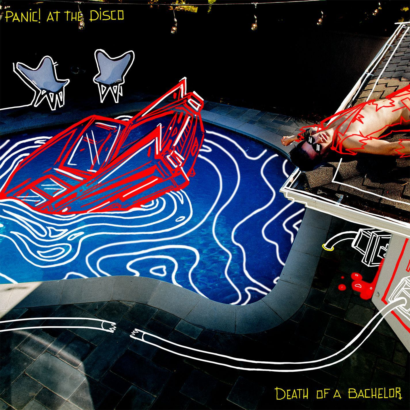 Panic! At The Disco - Death Of A Bachelor album cover