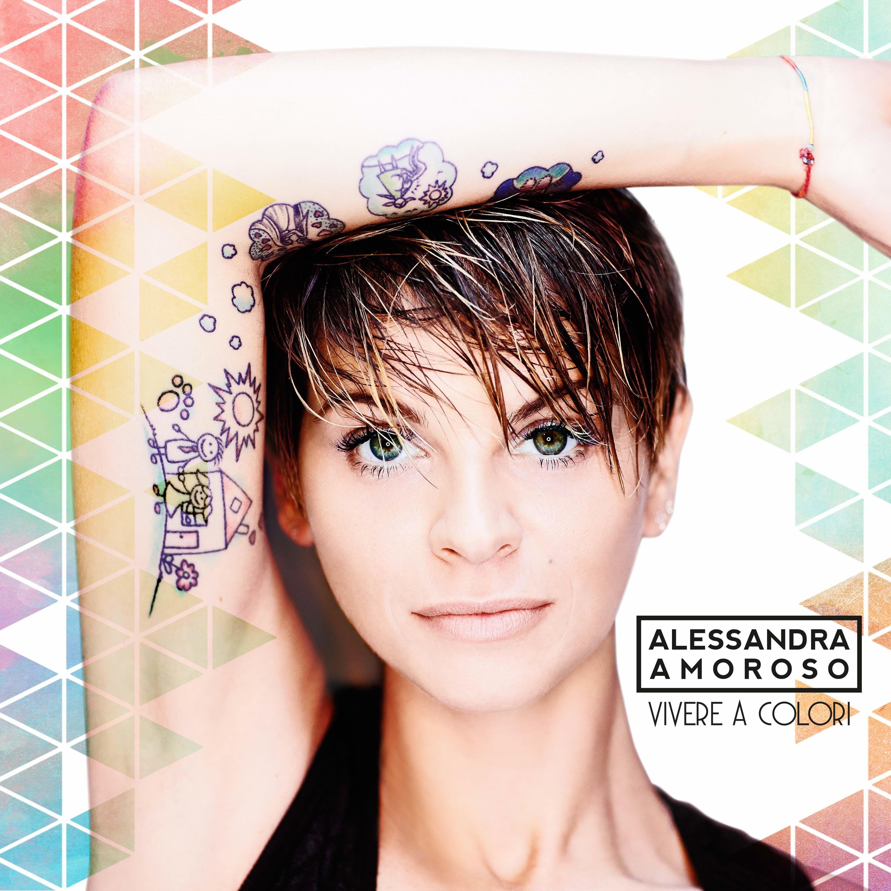 Alessandra Amoroso - Vivere A Colori album cover