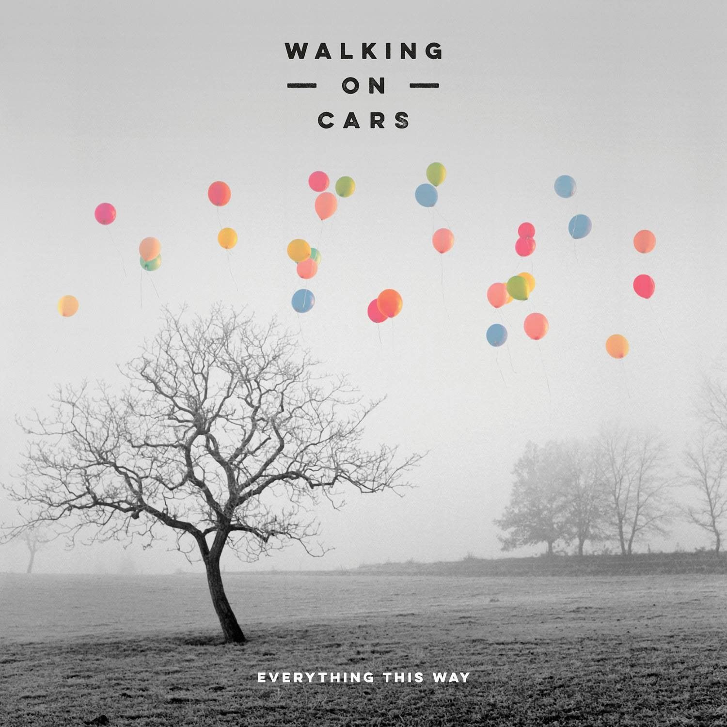 Walking On Cars - Everything This Way album cover