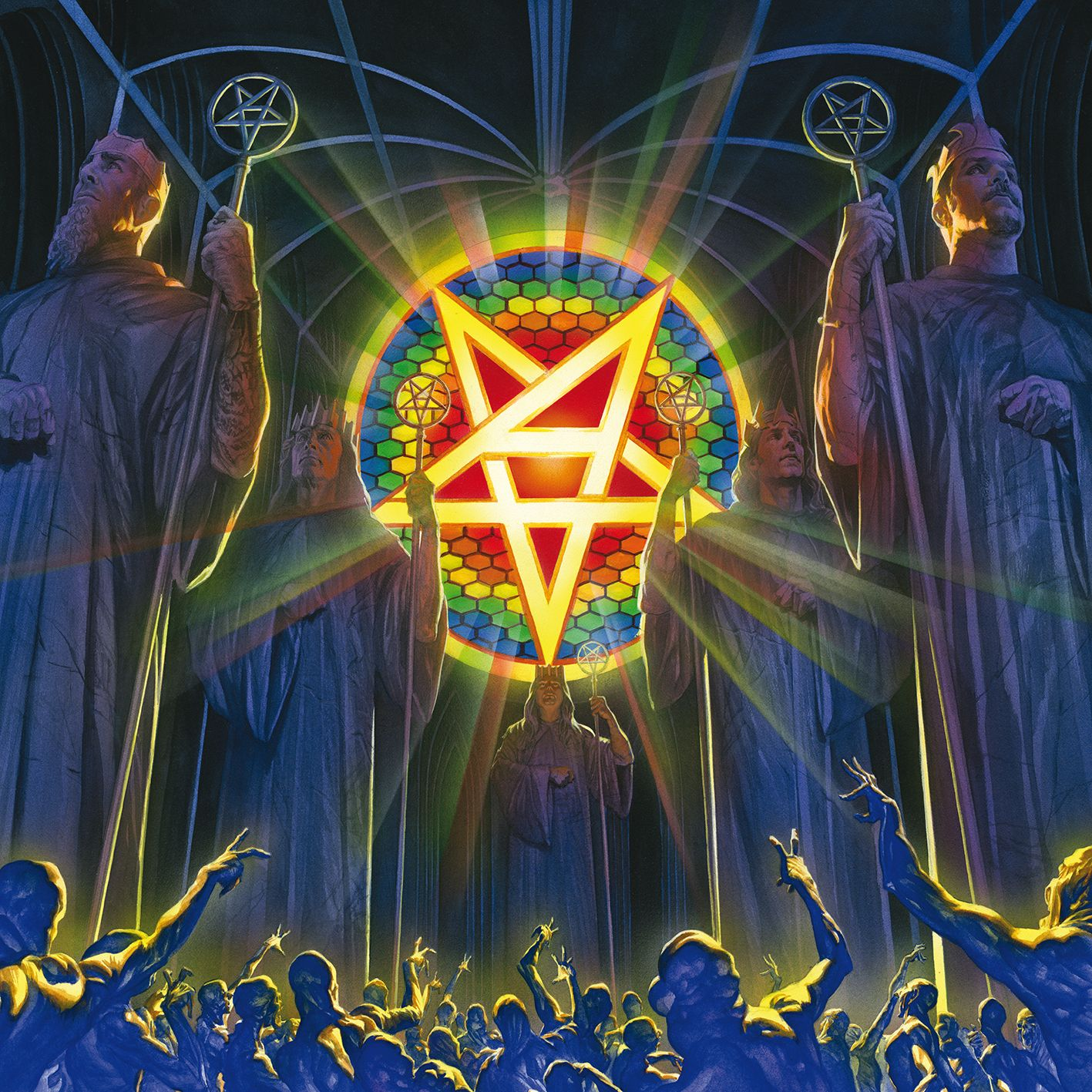 Anthrax - For All Kings album cover