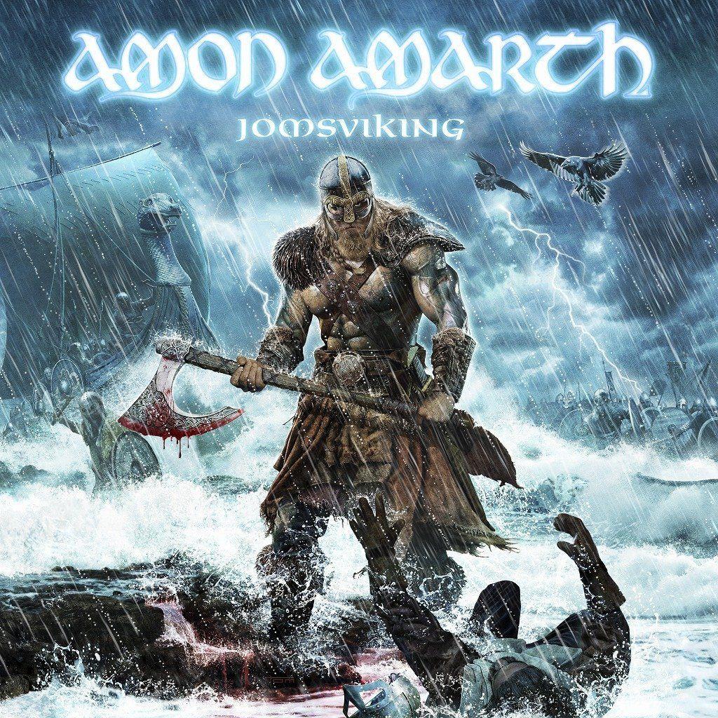 Amon Amarth - Jomsviking album cover
