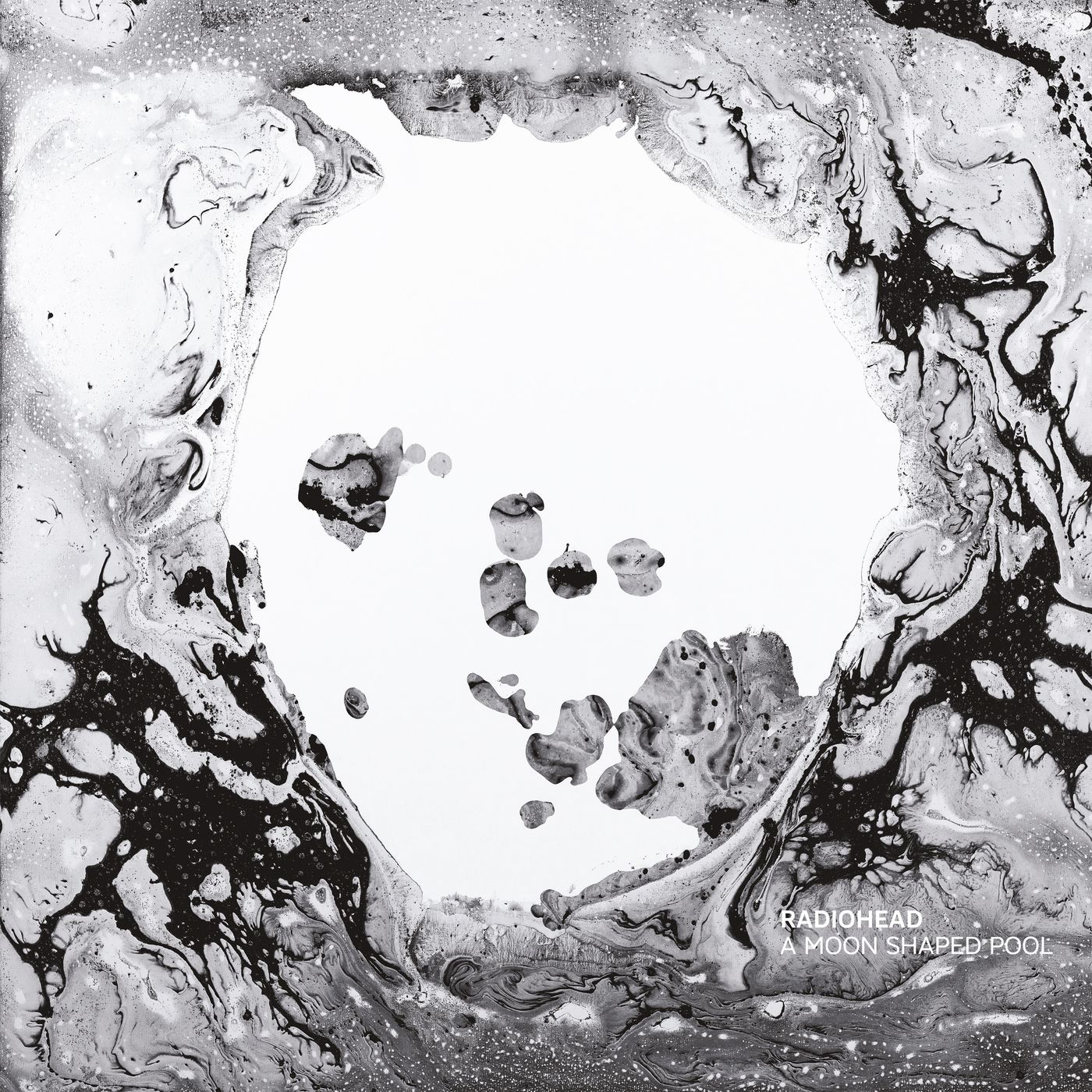 Radiohead - A Moon Shaped Pool album cover