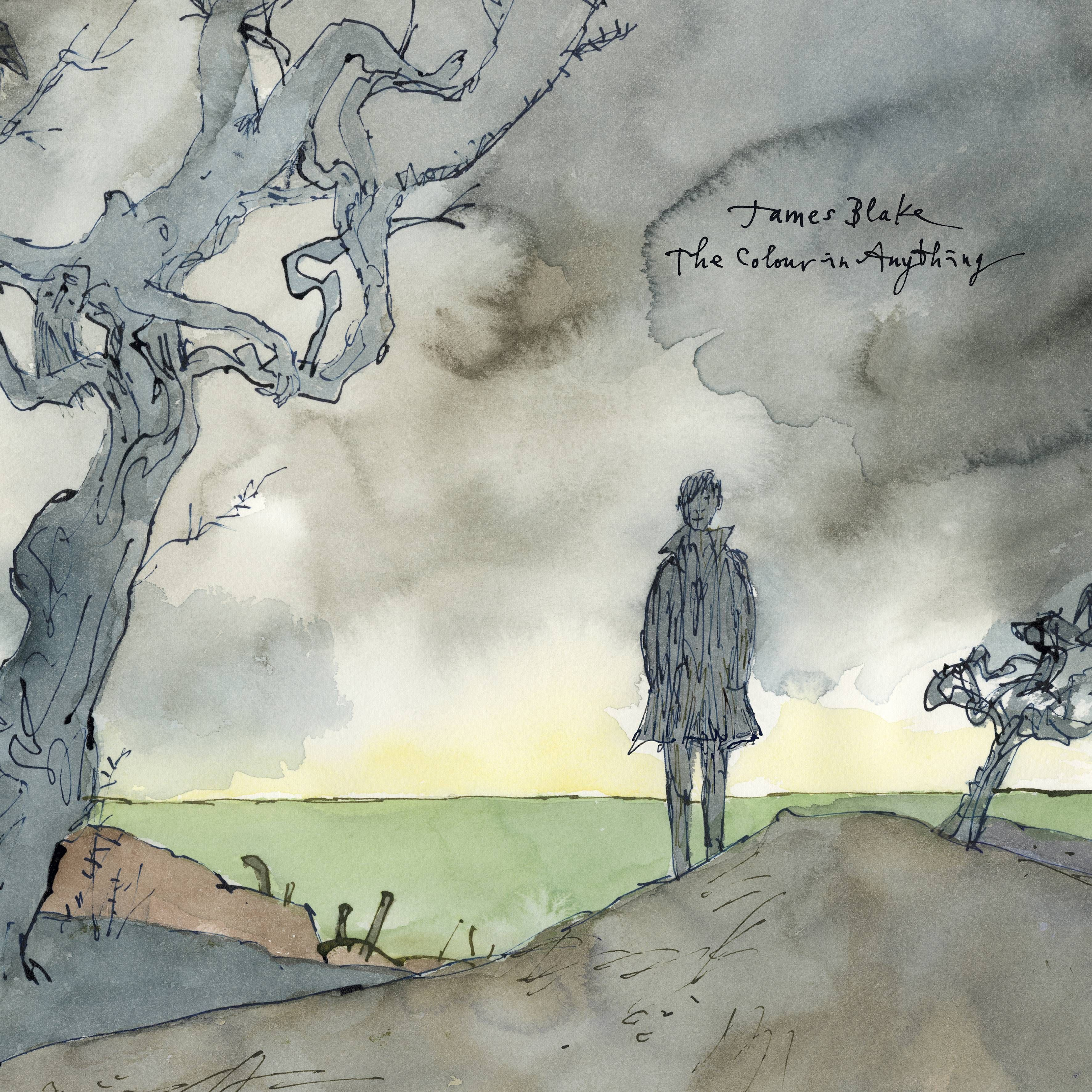 James Blake - The Colour In Anything album cover