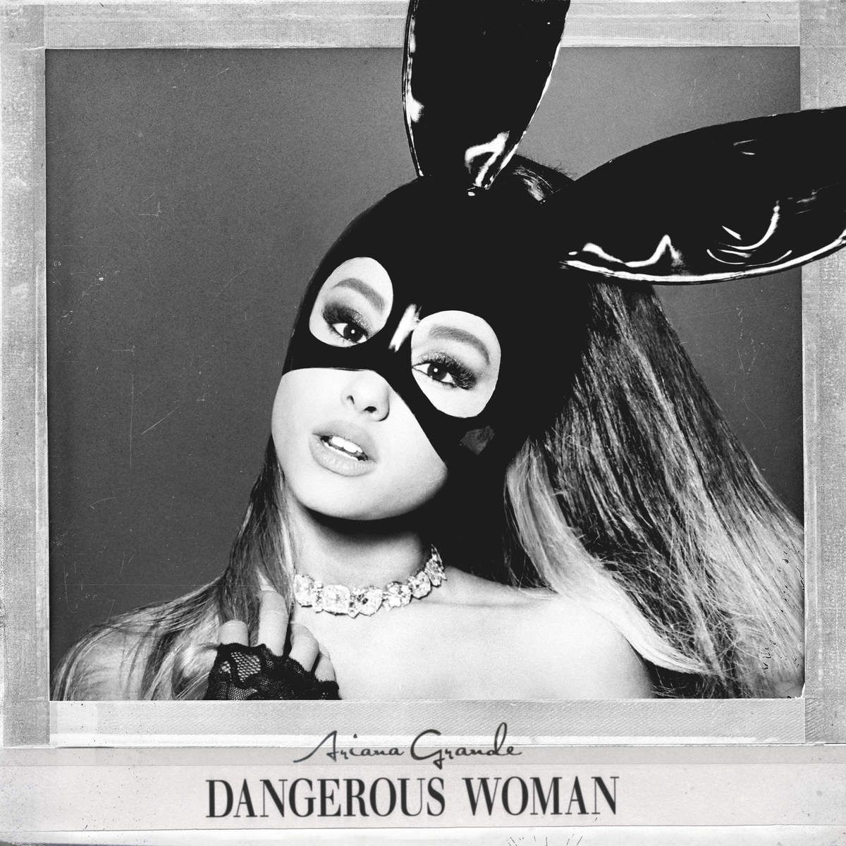 Ariana Grande - Dangerous Woman album cover